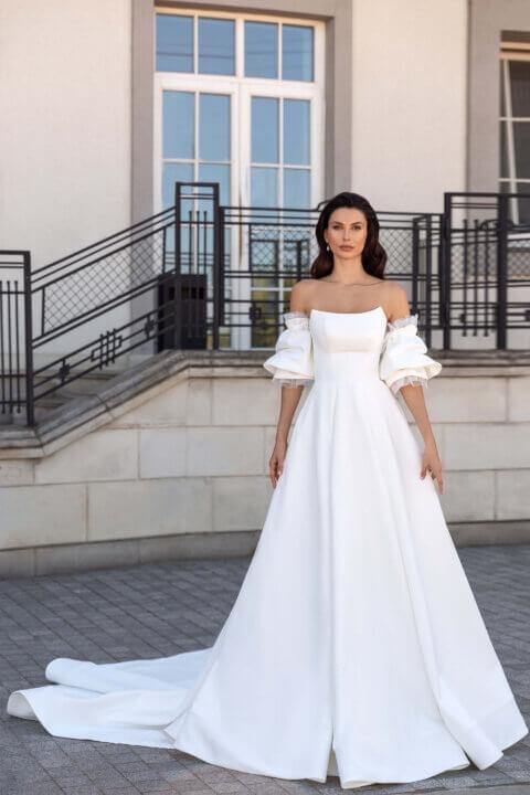 Свадебное платье Amandin, Коллекция Elodie 2022, Anne-Mariée