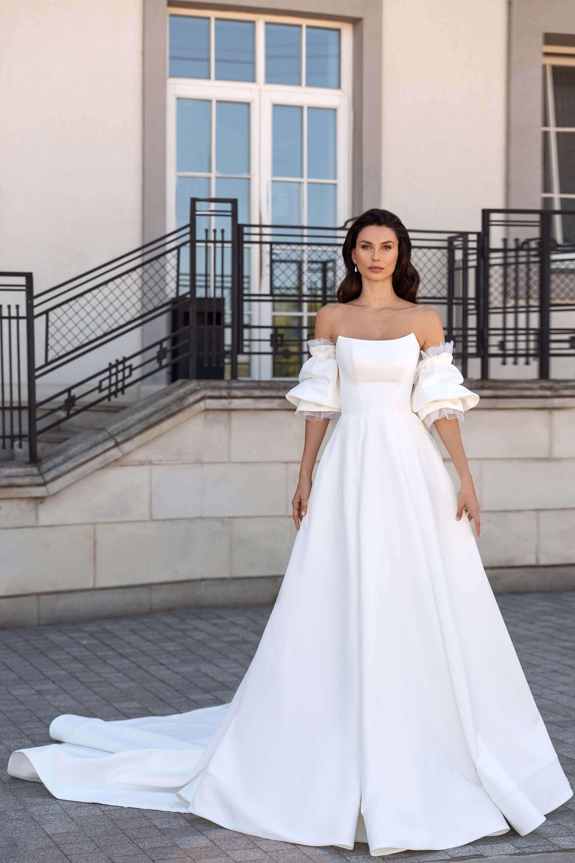 Свадебное платье Амандин, Коллекция Elodie 2022, Anne-Mariée