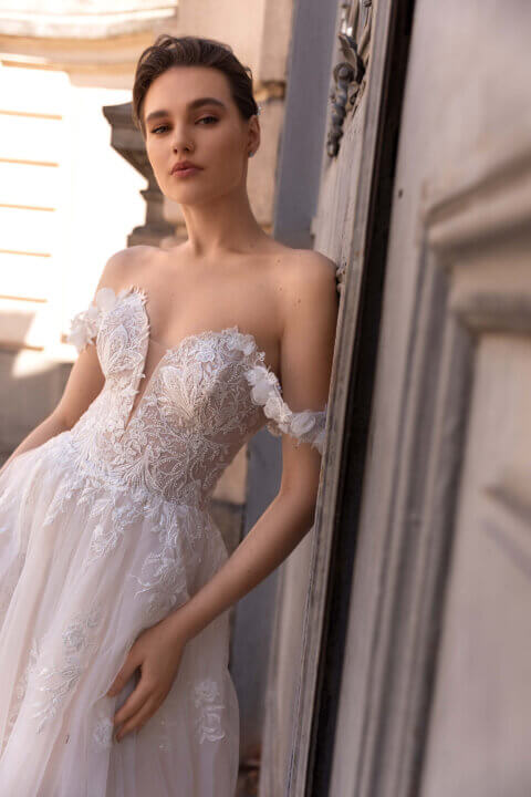 Свадебное платье Arin, Коллекция Elodie 2022, Anne-Mariée