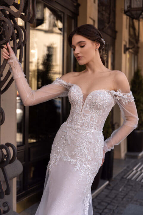 Свадебное платье Astor, Коллекция Elodie 2022, Anne-Mariée