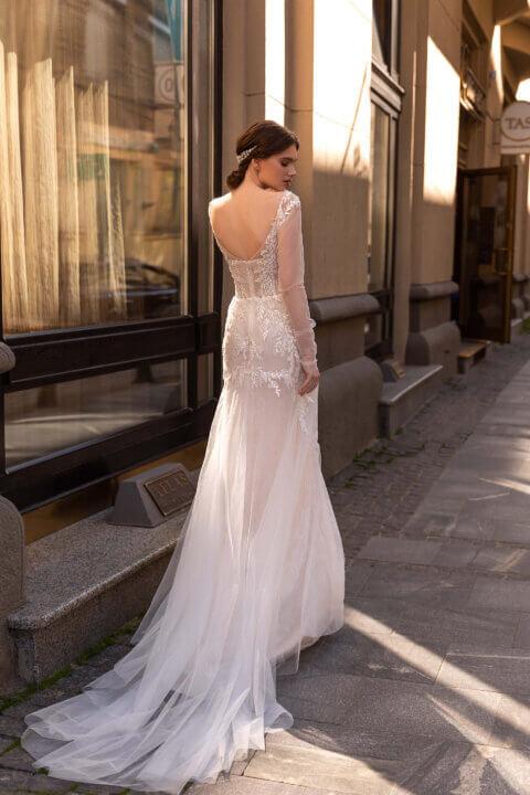 Свадебное платье Астор, Коллекция Elodie 2022, Anne-Mariée
