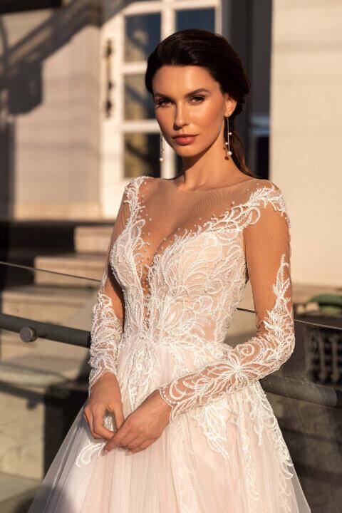 Свадебное платье Astrid, Коллекция Elodie 2022, Anne-Mariée
