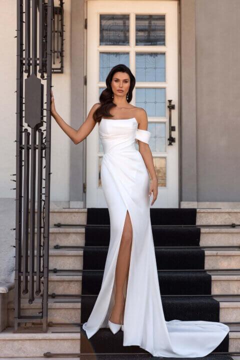 Свадебное платье Blansh, Коллекция Elodie 2022, Anne-Mariée