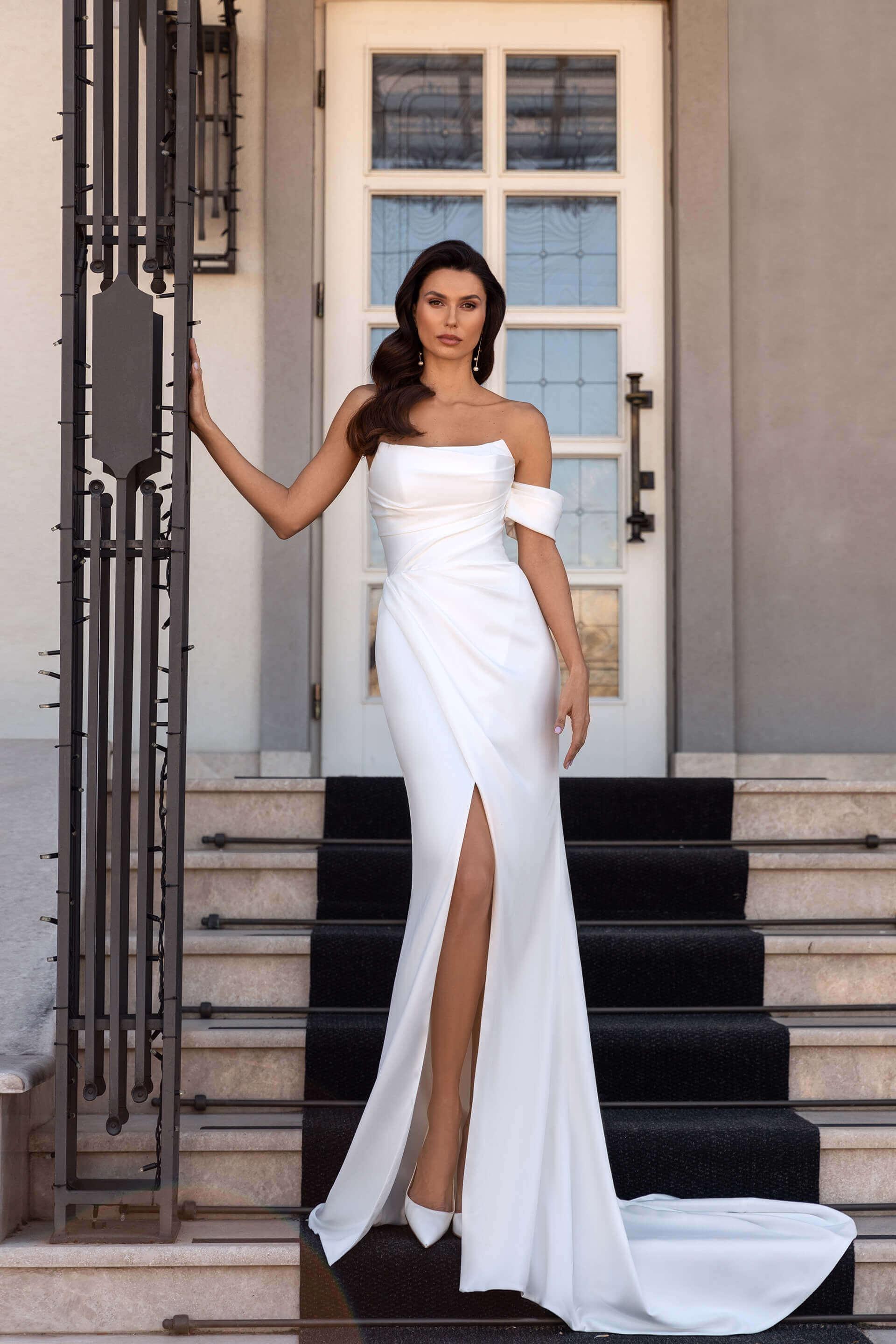 Свадебное платье Бланш, Коллекция Elodie 2022, Anne-Mariée