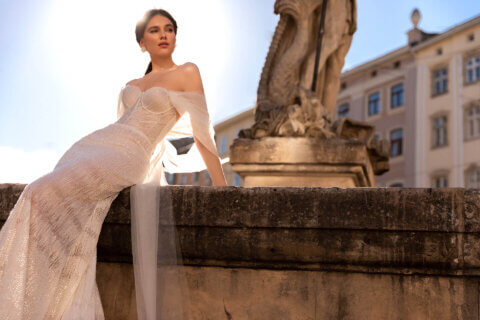 Свадебное платье Brice, Коллекция Elodie 2022, Anne-Mariée