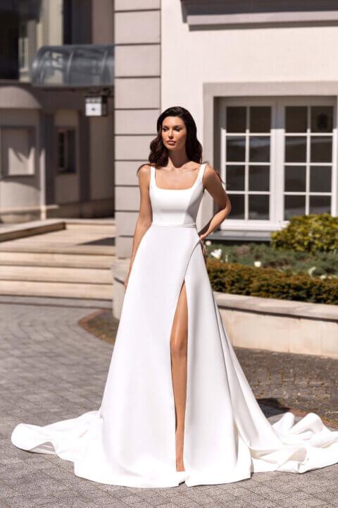 Свадебное платье Clod, Коллекция Elodie 2022, Anne-Mariée