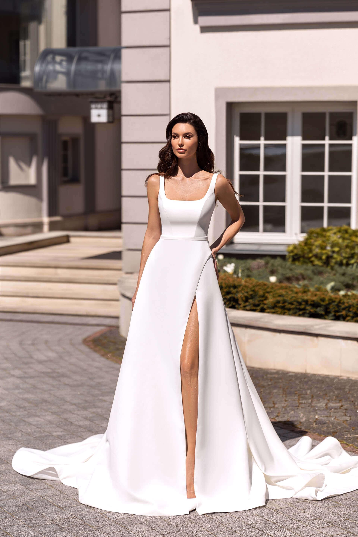 Свадебное платье Клод, Коллекция Elodie 2022, Anne-Mariée