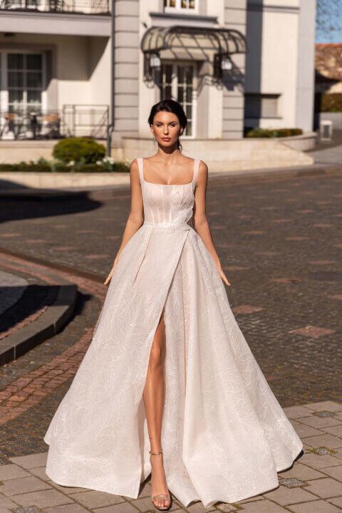 Свадебное платье Deny, Коллекция Elodie 2022, Anne-Mariée