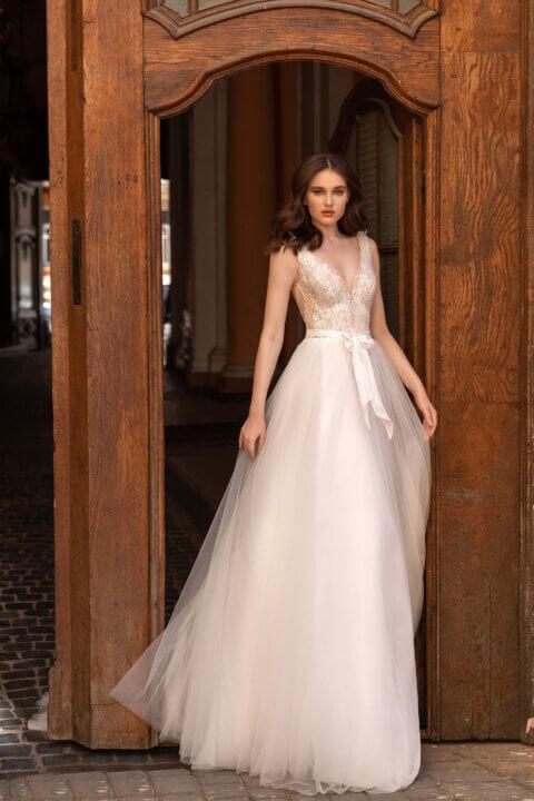 Свадебное платье Elodie, Коллекция Elodie 2022, Anne-Mariée
