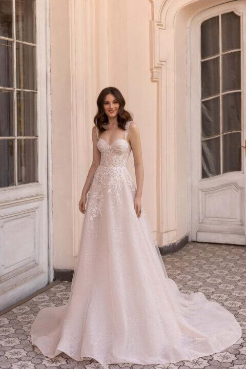 Свадебное платье Эмелин, Коллекция Elodie 2022, Anne-Mariée