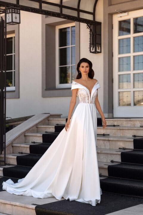 Свадебное платье Эвэт, Коллекция Elodie 2022, Anne-Mariée