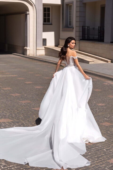 Свадебное платье Фэлис, Коллекция Elodie 2022, Anne-Mariée