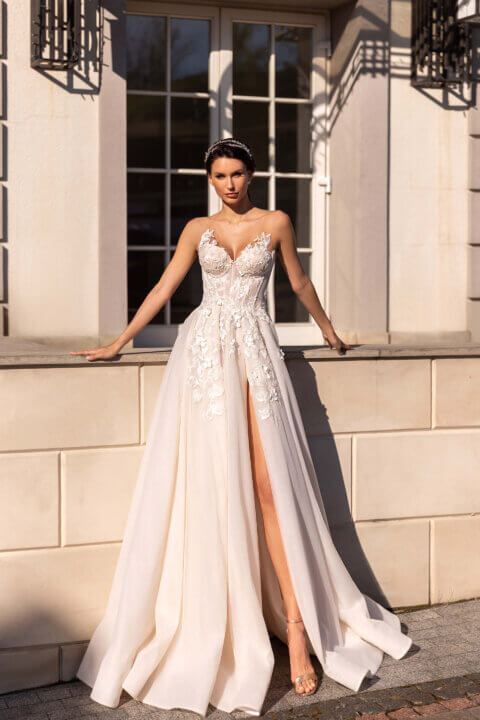 Свадебное платье Флор, Коллекция Elodie 2022, Anne-Mariée