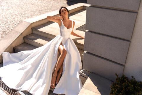 Свадебное платье Кэтрин, Коллекция Elodie 2022, Anne-Mariée