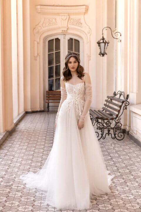 Свадебное платье Lucile, Коллекция Elodie 2022, Anne-Mariée