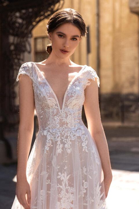 Свадебное платье Мэрион, Коллекция Elodie 2022, Anne-Mariée