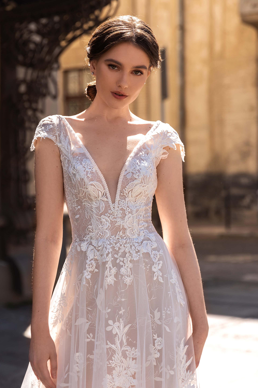 Свадебное платье Merion, Коллекция Elodie 2022, Anne-Mariée