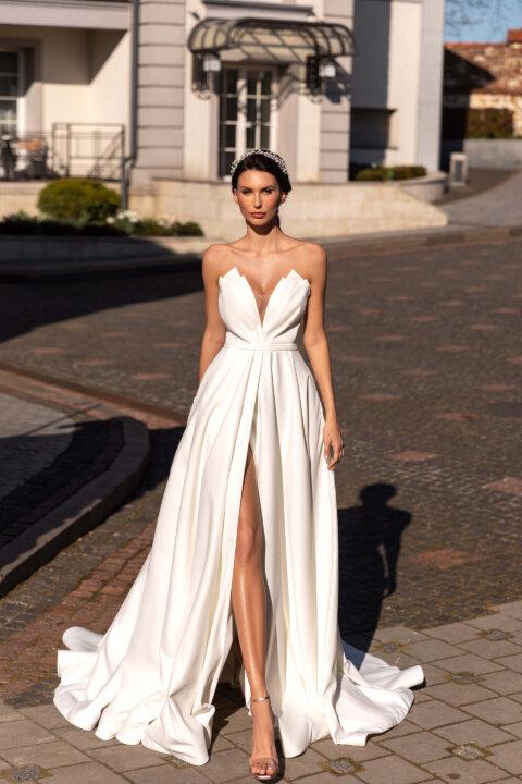 Свадебное платье Мишэль, Коллекция Elodie 2022, Anne-Mariée