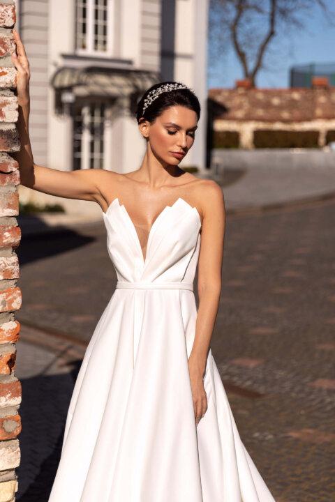 Свадебное платье Mishel, Коллекция Elodie 2022, Anne-Mariée