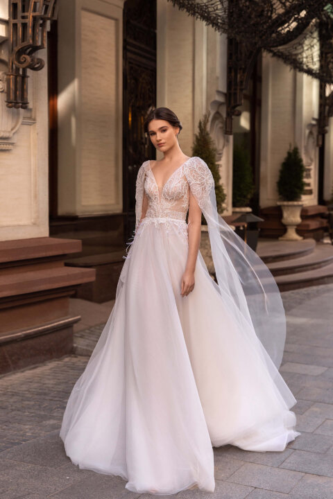 Свадебное платье Ноэлла, Коллекция Elodie 2022, Anne-Mariée