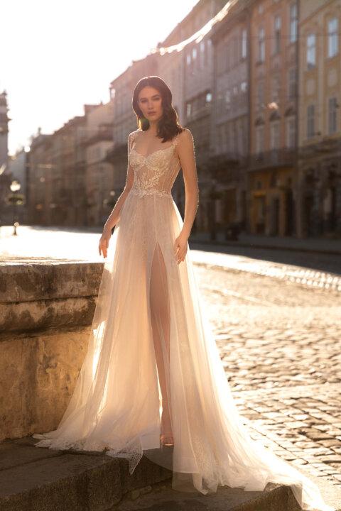 Свадебное платье Olivy, Коллекция Elodie 2022, Anne-Mariée