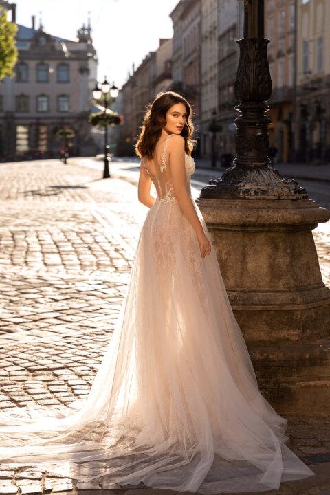 Свадебное платье Оливи, Коллекция Elodie 2022, Anne-Mariée