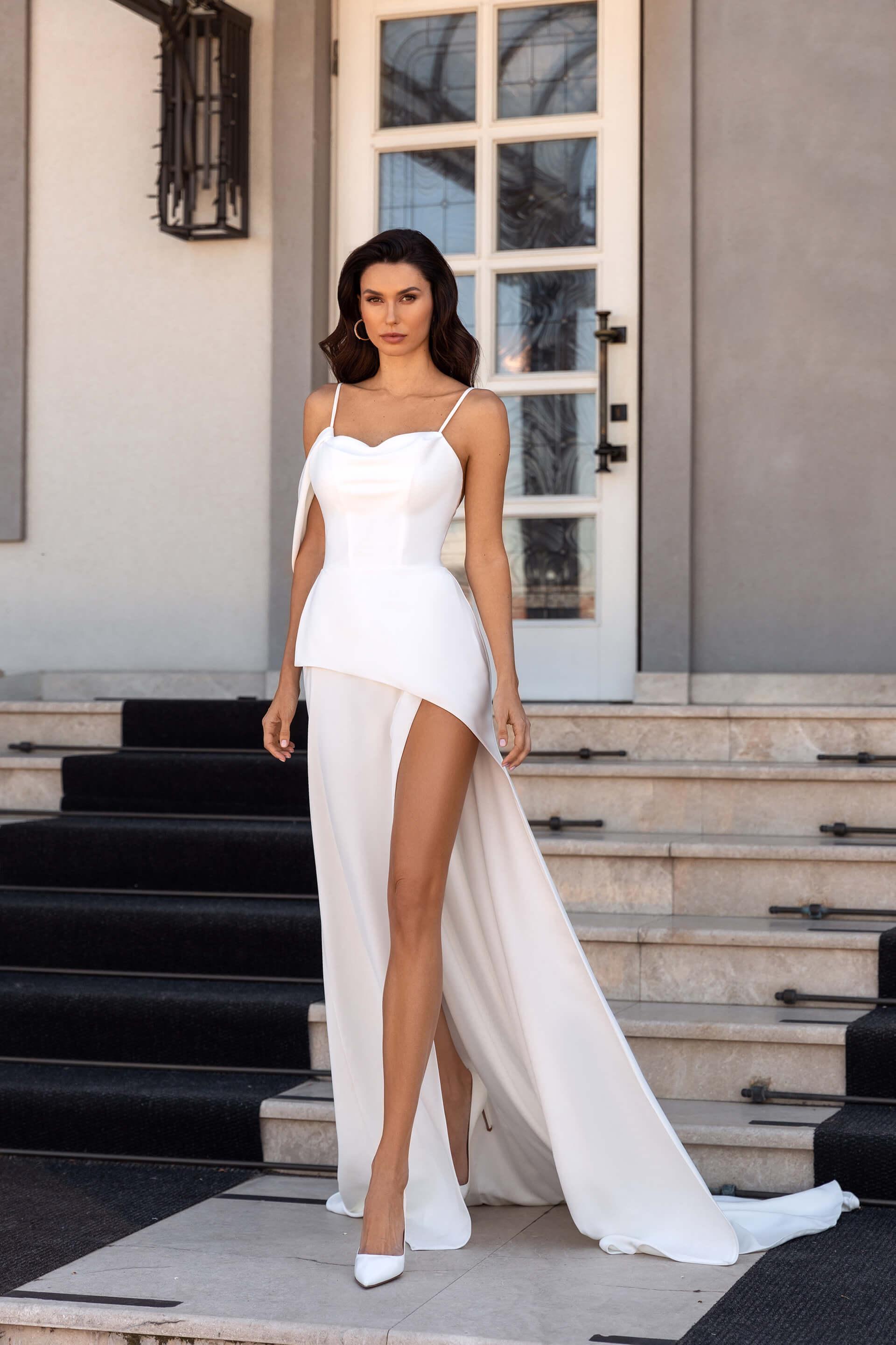 Свадебное платье Paola, Коллекция Elodie 2022, Anne-Mariée