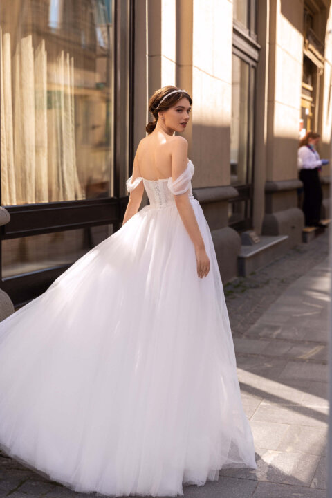 Свадебное платье Пиррэт, Коллекция Elodie 2022, Anne-Mariée