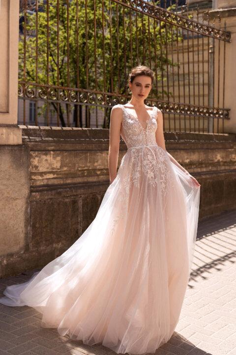 Свадебное платье Селеста, Коллекция Elodie 2022, Anne-Mariée