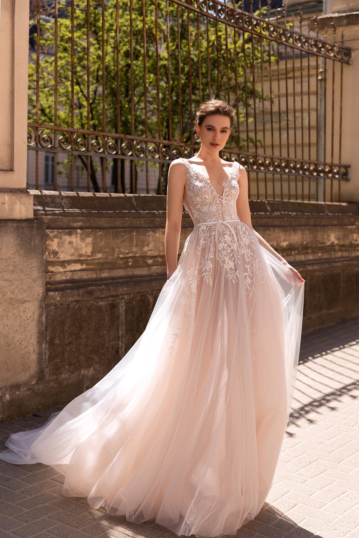 Свадебное платье Selesta, Коллекция Elodie 2022, Anne-Mariée