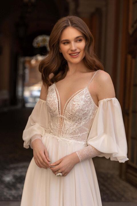 Свадебное платье Сэлма, Коллекция Elodie 2022, Anne-Mariée