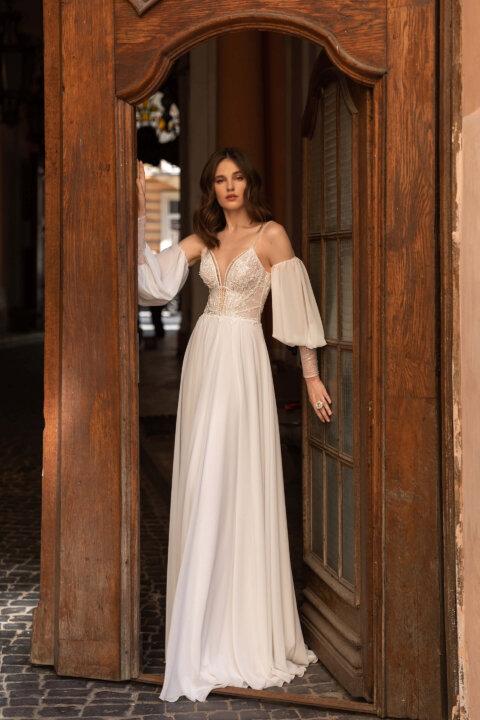 Свадебное платье Selma, Коллекция Elodie 2022, Anne-Mariée