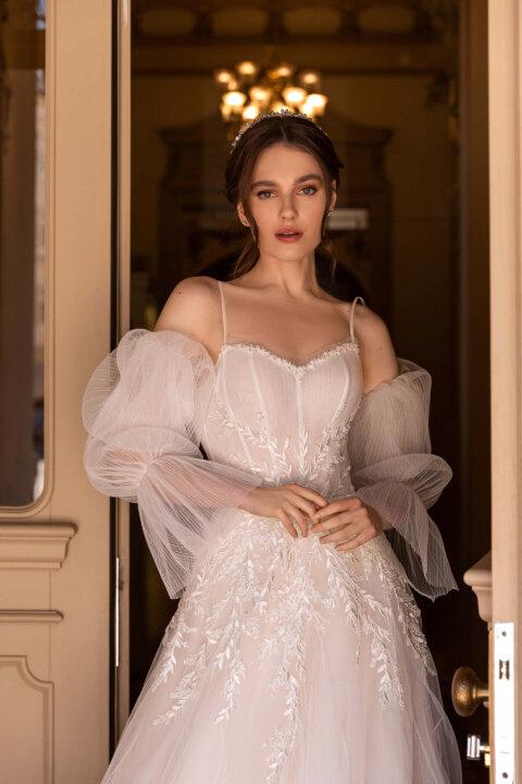 Свадебное платье Зое, Коллекция Elodie 2022, Anne-Mariée