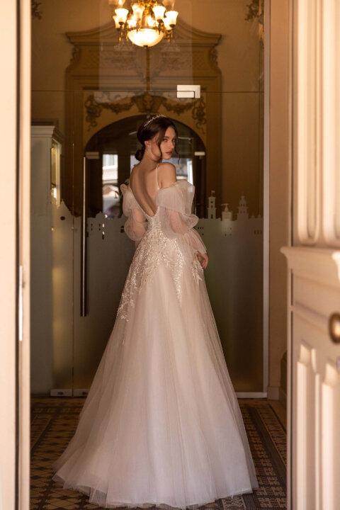 Свадебное платье Zoe, Коллекция Elodie 2022, Anne-Mariée