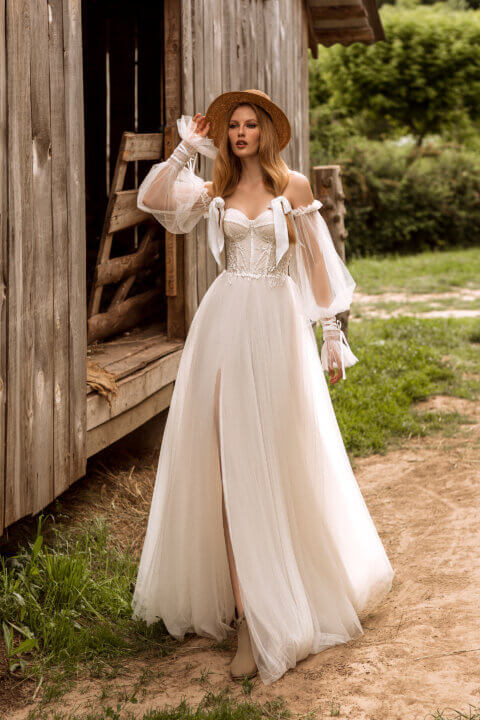 Свадебное платье Аймэ, Коллекция Montana Wind 2022, Anne-Mariée