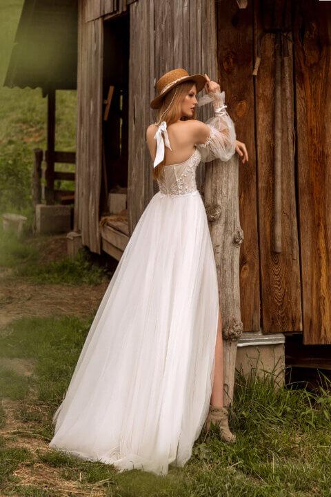 Свадебное платье Aime, Коллекция Montana Wind 2022, Anne-Mariée