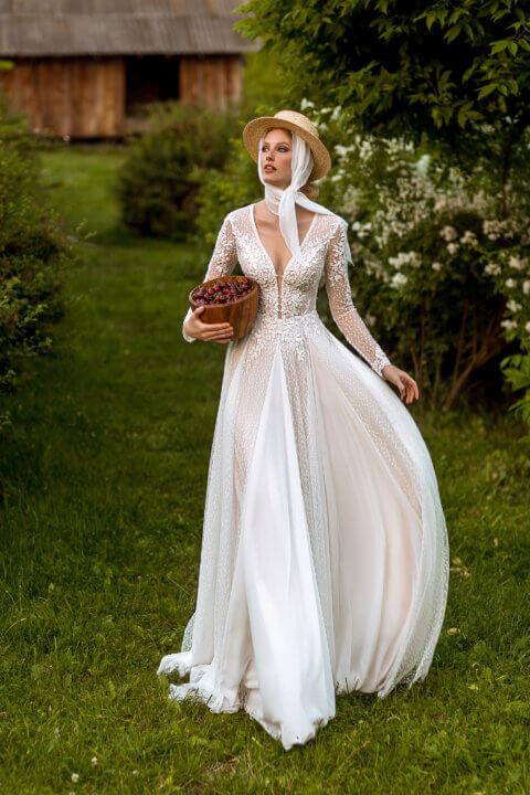 Свадебное платье Celia, Коллекция Montana Wind 2022, Anne-Mariée