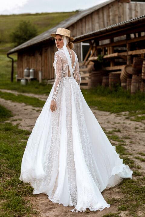 Свадебное платье Сэлия, Коллекция Montana Wind 2022, Anne-Mariée