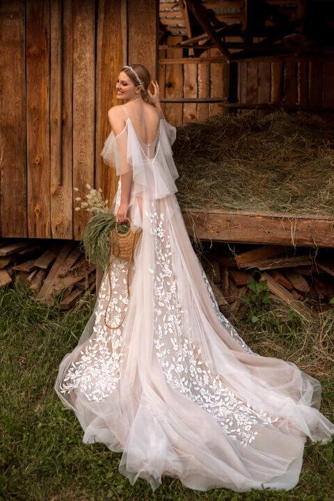 Свадебное платье Доминик, Коллекция Montana Wind 2022, Anne-Mariée