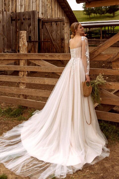 Свадебное платье Элси, Коллекция Montana Wind 2022, Anne-Mariée