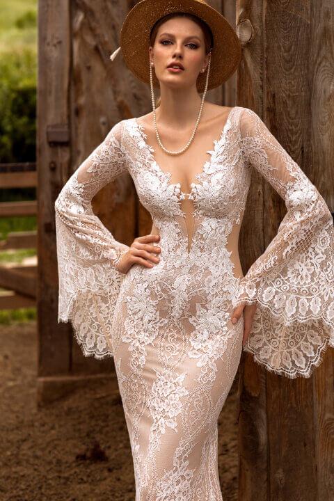 Свадебное платье Элвина, Коллекция Montana Wind 2022, Anne-Mariée