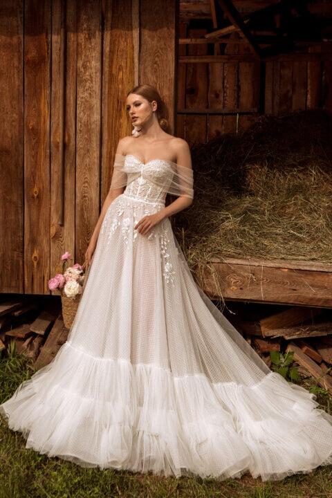 Свадебное платье Флориан, Коллекция Montana Wind 2022, Anne-Mariée