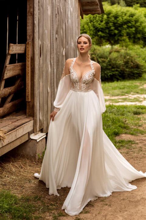 Свадебное платье Frida, Коллекция Montana Wind 2022, Anne-Mariée