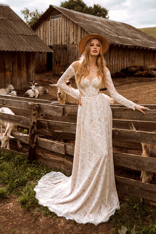 Свадебное платье Ida, Коллекция Montana Wind 2022, Anne-Mariée