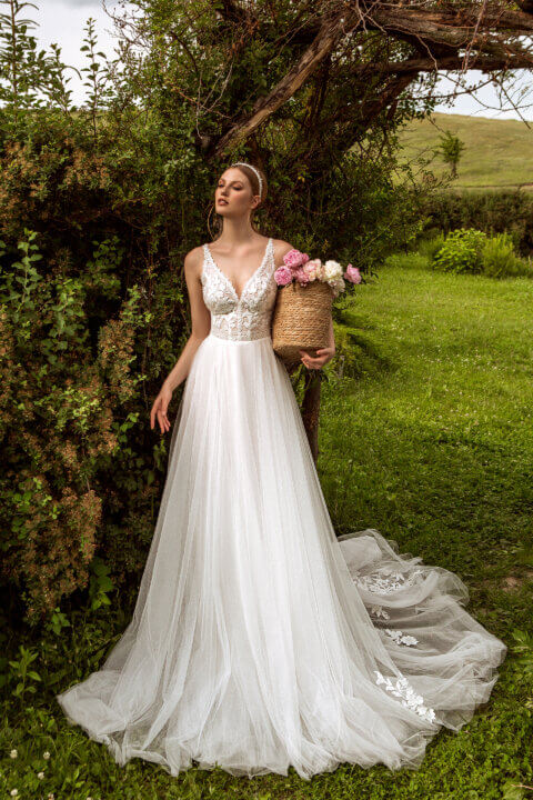 Свадебное платье Irma, Коллекция Montana Wind 2022, Anne-Mariée
