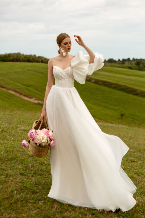 Свадебное платье Luiza, Коллекция Montana Wind 2022, Anne-Mariée