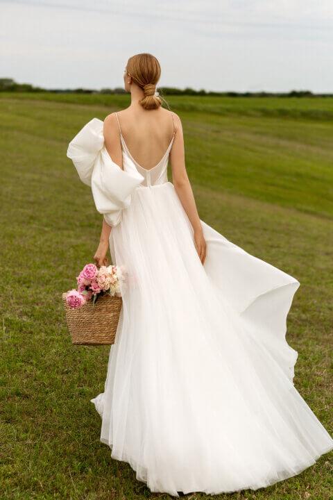 Свадебное платье Луиза, Коллекция Montana Wind 2022, Anne-Mariée