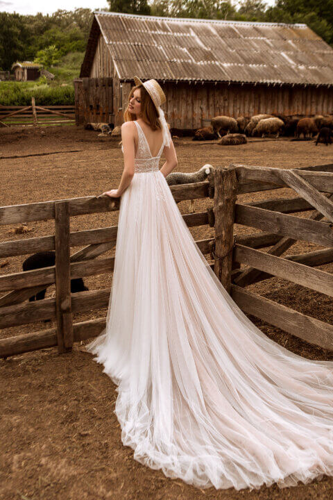 Свадебное платье Madlen, Коллекция Montana Wind 2022, Anne-Mariée
