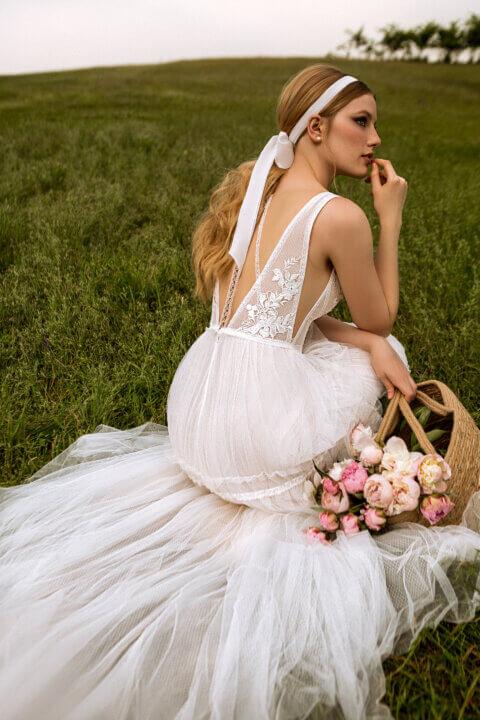 Свадебное платье Mary, Коллекция Montana Wind 2022, Anne-Mariée