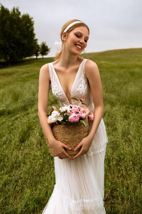 Свадебное платье Мэри, Коллекция Montana Wind 2022, Anne-Mariée